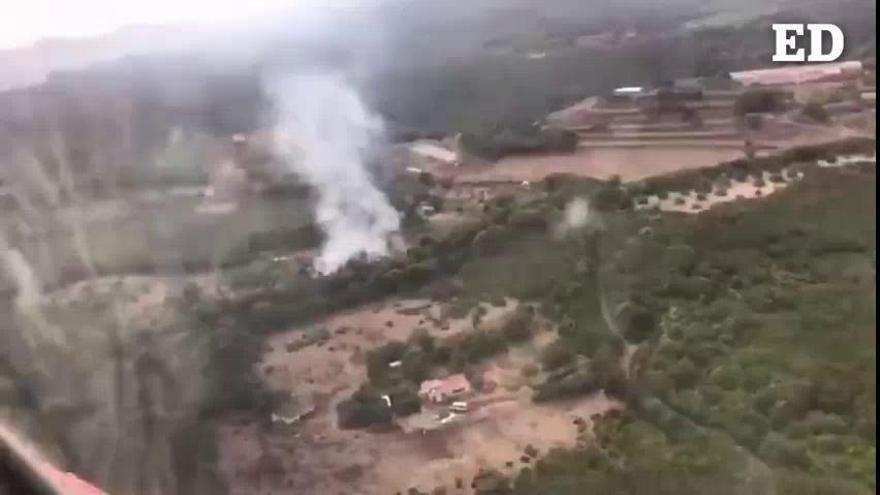 Vídeo: Se declara un incendio en La Palma