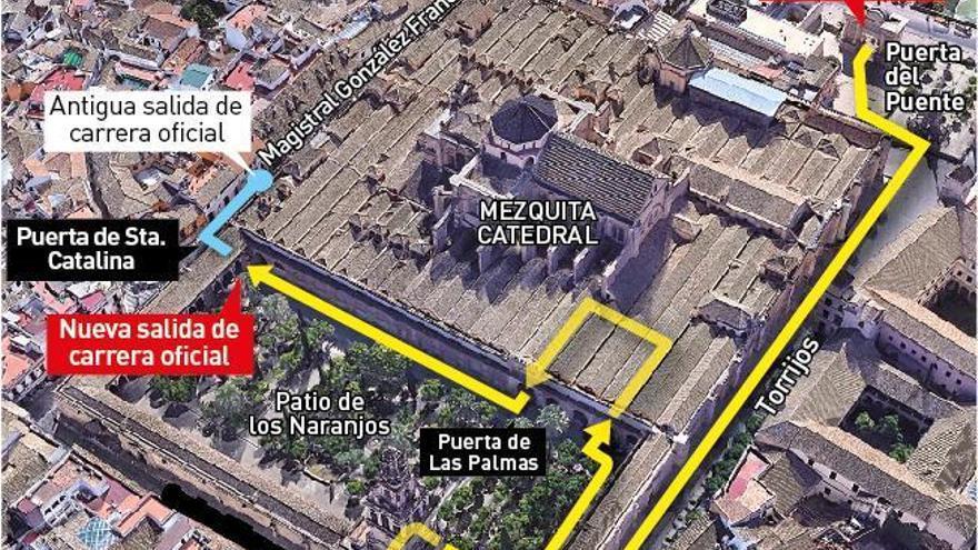 La carrera oficial de la Semana Santa acabará en la Puerta de Santa Catalina
