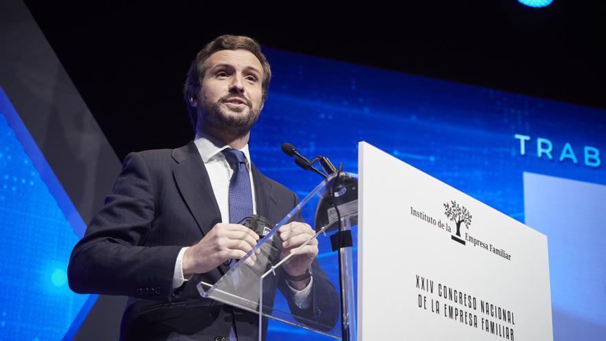 Casado avisa que acudirá a Europa para que se mantenga la reforma laboral