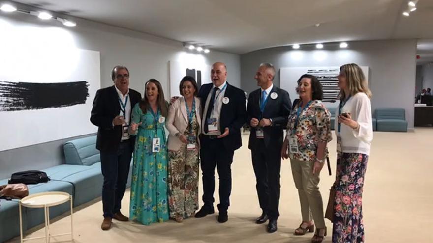La delegación cordobesa celebra el título en Baréin al ritmo del 'Soy cordobés'