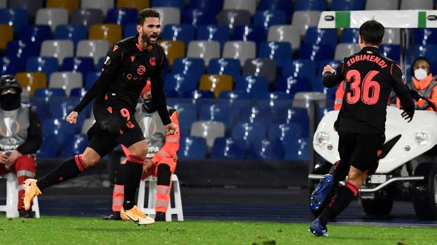 Willian José apunta a titular en la delantera de la Real Sociedad