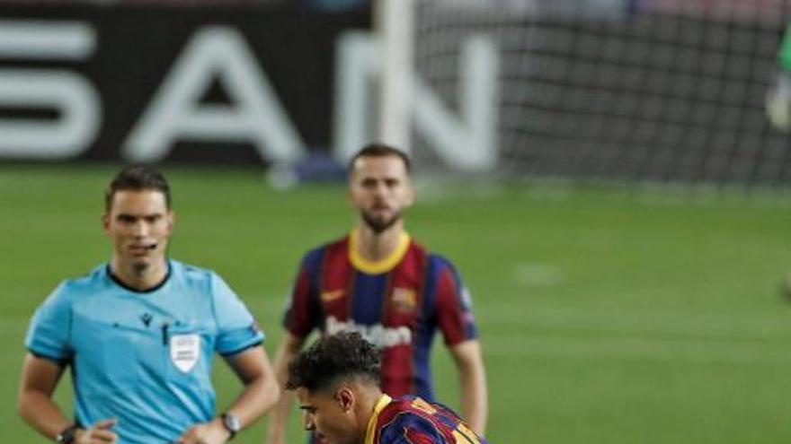 El Barça golea al Ferencvaros en su estreno europeo