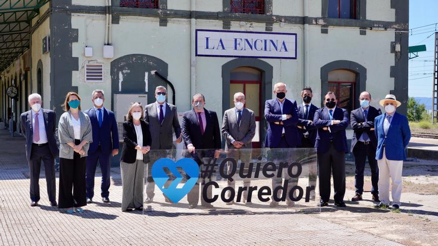 AVE urge al Ministerio a acelerar las obras del Corredor Mediterráneo