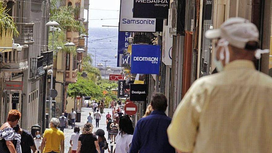 Las ventas del comercio minorista bajaron en Canarias un 0,3 % en julio