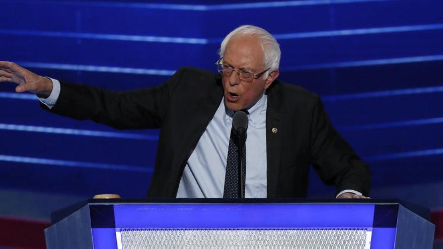 Bernie Sanders se postula de nuevo para las presidenciales de EEUU en 2020