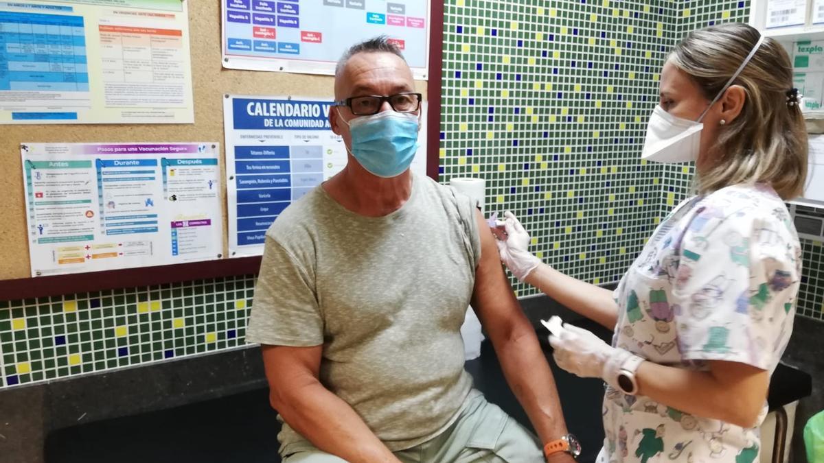 Imagen de la vacunación contra la gripe
