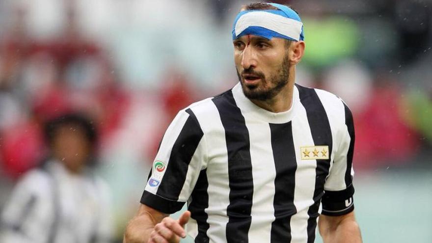 Chiellini es perdrà el Juventus-Barcelona per una lesió muscular