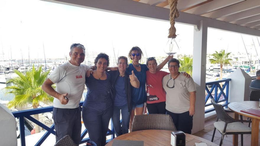 La travesía Ocean Dream contra el cáncer arriba a Lanzarote