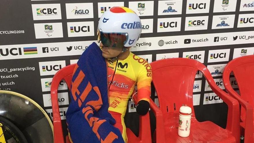 Ricardo Ten consigue el oro en el Mundial de Ciclismo