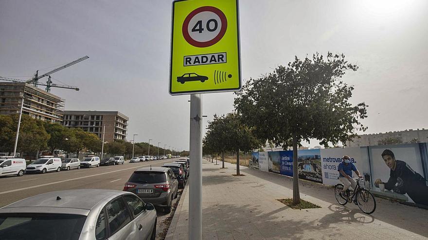 El límite de velocidad a 30 kilómetros por hora entra en vigor en Palma sin multas