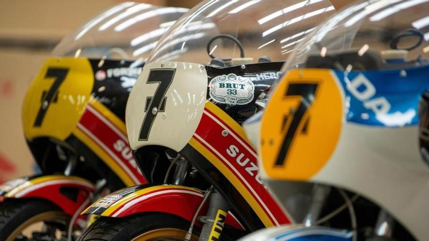 Suzuki restaura las motos de Barry Sheene para el Motorcycle Live 2019
