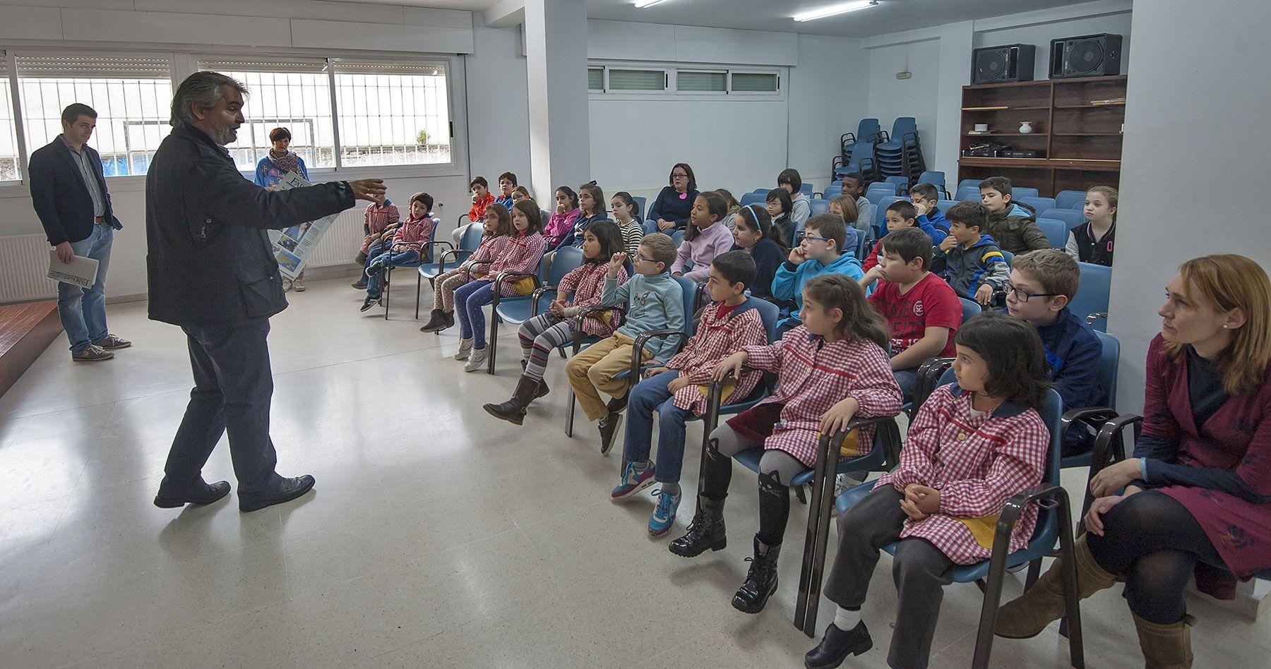 Visita a Faro de Vigo del CPR Quiñones de León, curso 2015-16