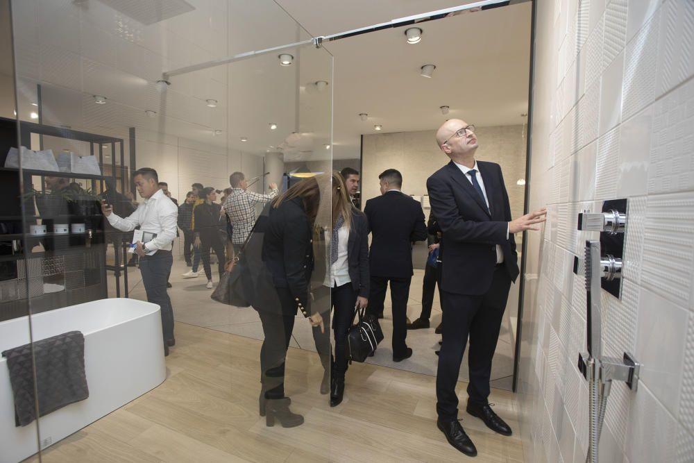 Inauguración XXVI Muestra de Arquitectura e Interiorismo de Porcelanosa