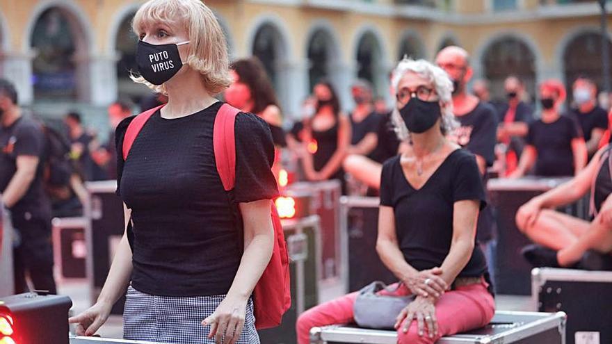 El 'funeral' por la cultura se oficiará el día 11 en Trui Teatre