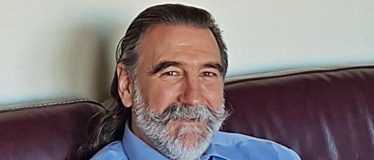 Arturo Méndez, presidente del Oviedo Rugby.