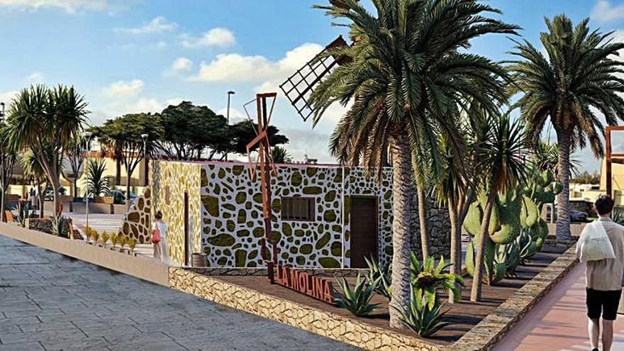 La popular molina del barrio de La Charca será convertida en un centro museístico