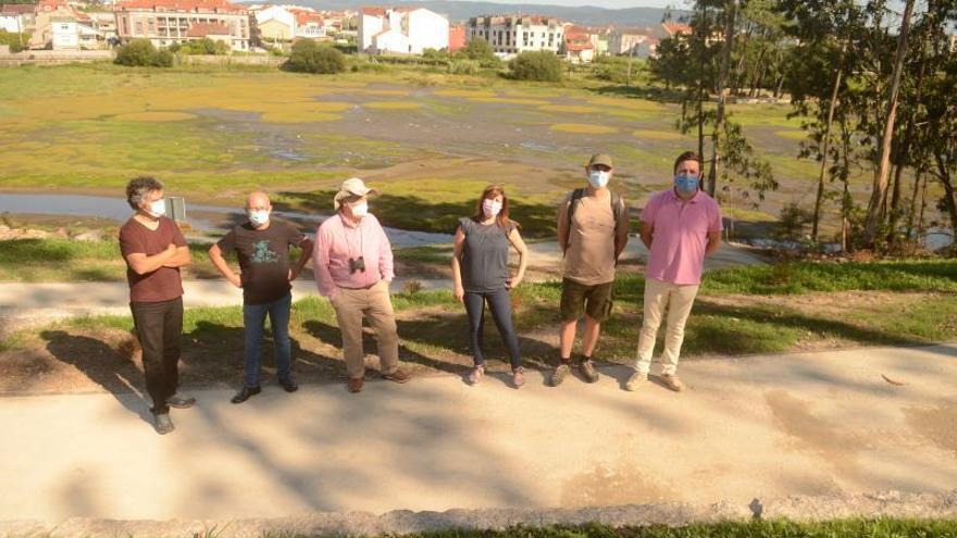 Cambados fomenta las visitas al estuario de A Seca con la apertura de un acceso