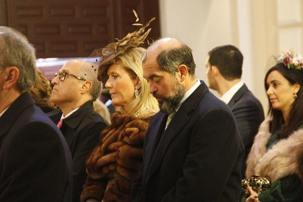 Mariano Rajoy acude a una boda en Cartagena