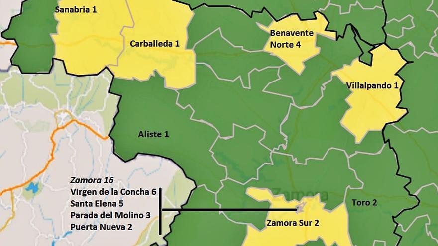Zamora sigue sumando brotes COVID, ya van cuatro, con trece infectados en total
