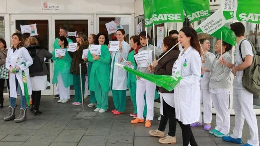 SATSE Zamora reclama mejoras laborales y profesionales para las enfermeras de Servicios Sociales y Educación