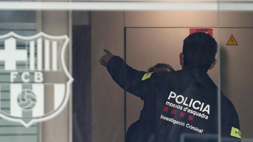 Los mossos cifran hasta en 1,2 millones el perjuicio al Barcelona por el 'Barçagate'