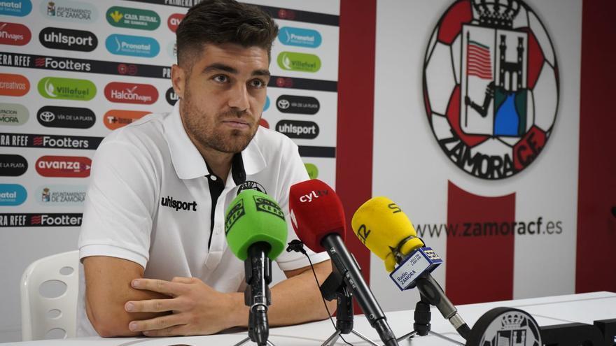 """Juanan, del Zamora CF: """"Vamos a darle la vuelta a esta situación"""""""