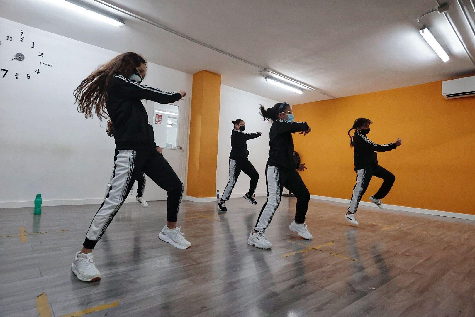 Grupo de baile infantil Crea Hip Hop