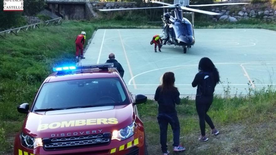 Rescatadas con éxito dos mujeres atrapadas en Alcudia de Veo