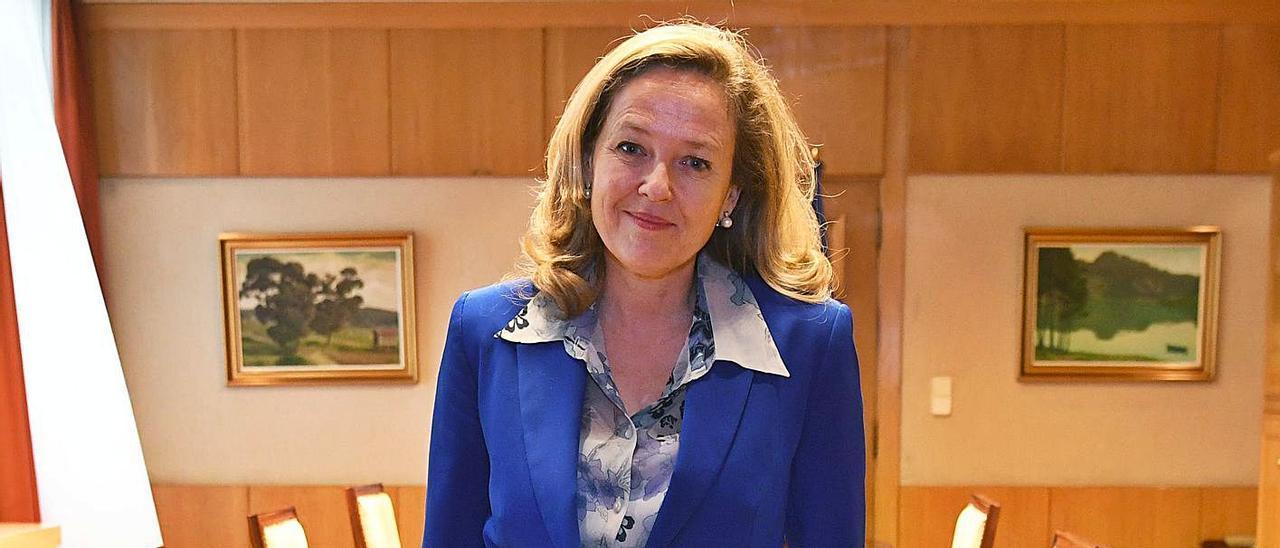 """Nadia Calviño: """"Las comunidades deben asumir el control en esta fase de la pandemia"""""""