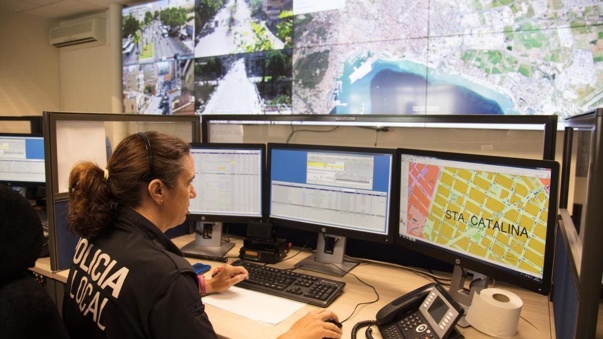 Una avería inhabilita temporalmente el 092 de la Policía Local de Palma