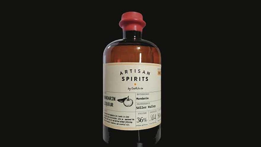 Un licor d'autor  que evoca el  terroir de Sóller