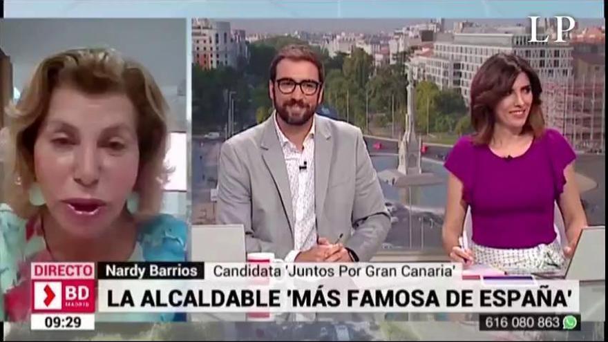"Nardy Barrios, la ""alcaldable más famosa de España"""
