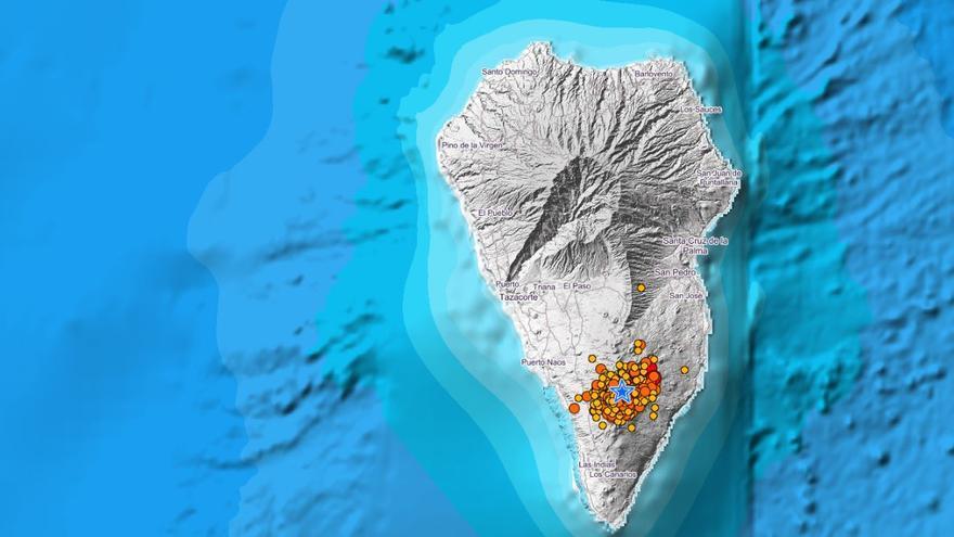 Las sacudidas del volcán despiertan a los palmeros