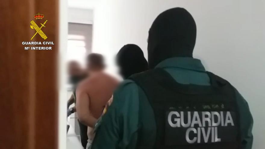 Operación 'Daravica' de la Guardia Civil en Gran Canaria y Tenerife en la que se desarticuló una banda que robaba en locales comerciales e industriales