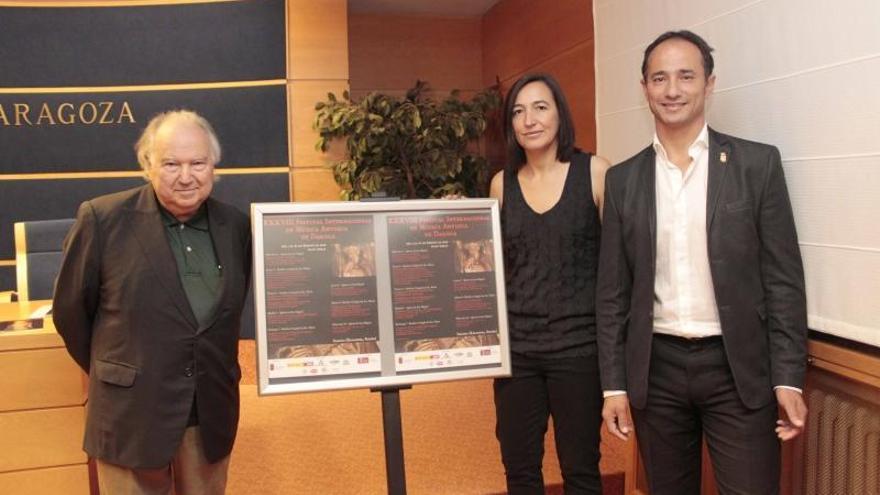 Daroca vuelve a erigirse en capital europea de la música antigua