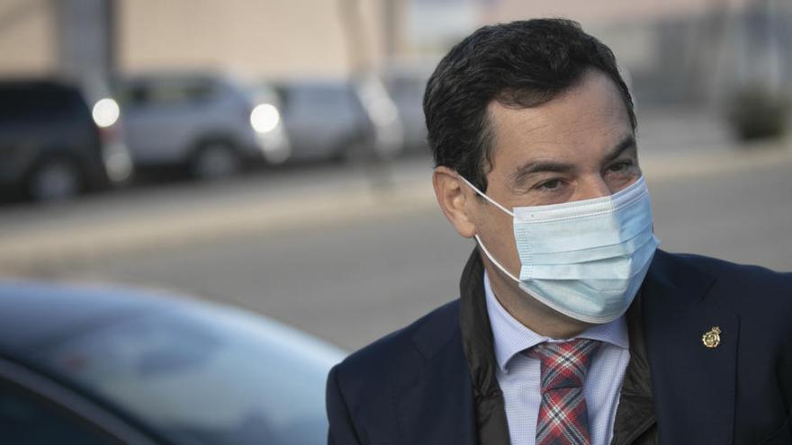 Moreno pide a los andaluces quedarse en casa y no reunirse en los hogares