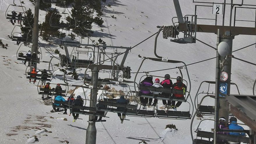 Satisfacció al Pirineu per la bona ocupació a les estacions d'esquí