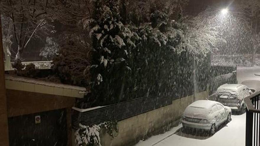 La nevada s'estén per bona part de Catalunya, especialment a Terres de l'Ebre i Ponent