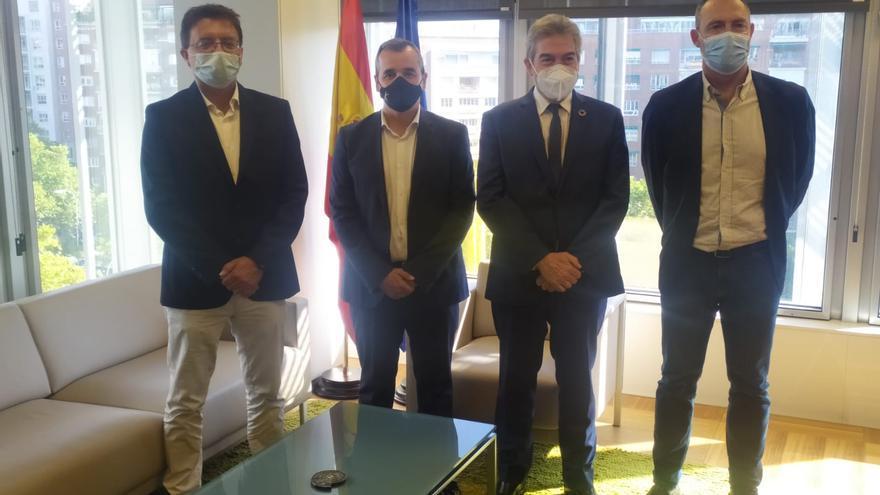 El Ayuntamiento de Aspe y SEPES proyectan ampliar el suelo industrial