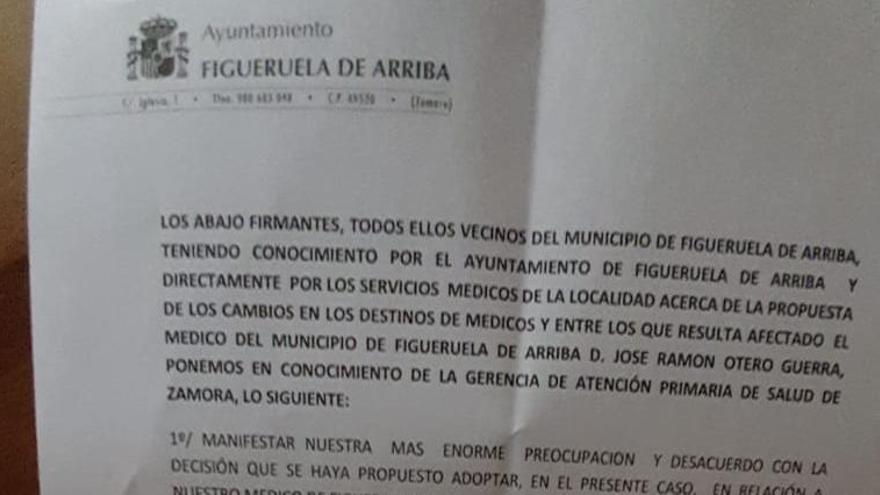 El alcalde de Figueruela de Arriba negocia con Sanidad la permanencia del médico en el municipio