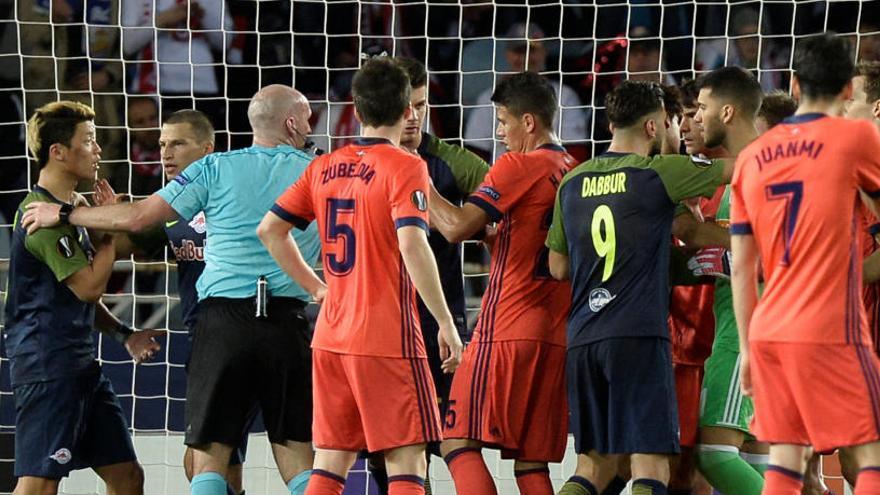 El Salzburgo amarga a la Real Sociedad en el minuto 94