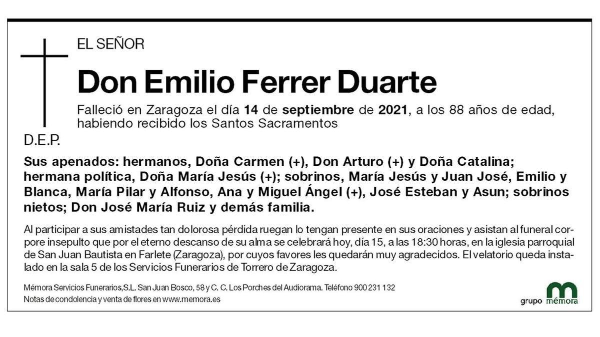 Emilio Ferrer Duarte