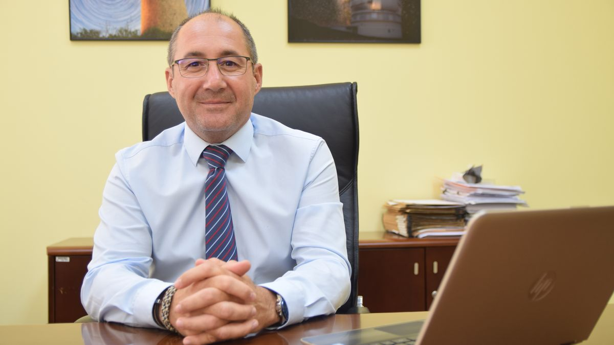 Luis Javier Lozano, vicerrector de Profesorado y Promoción Institucional de la UPCT