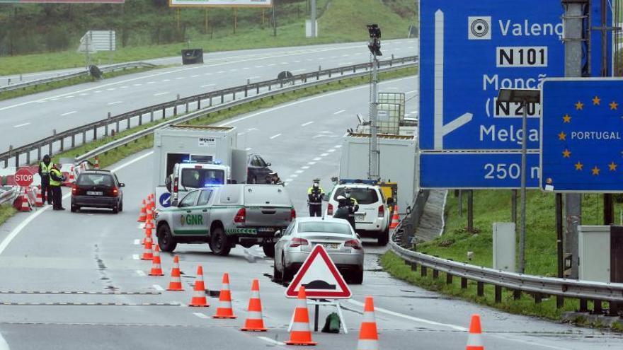 Los controles en la frontera con Portugal se prorrogan hasta el 16 de marzo