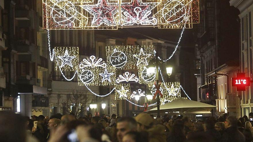 Avilés prepara el encendido de la próxima Navidad