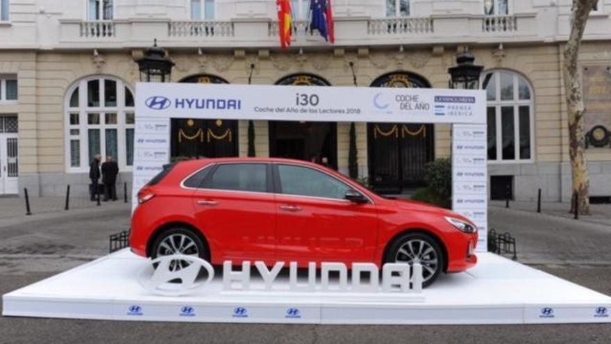 El nou Hyundai i30 rep el premi «Cotxe de l'Any dels Lectors 2018»