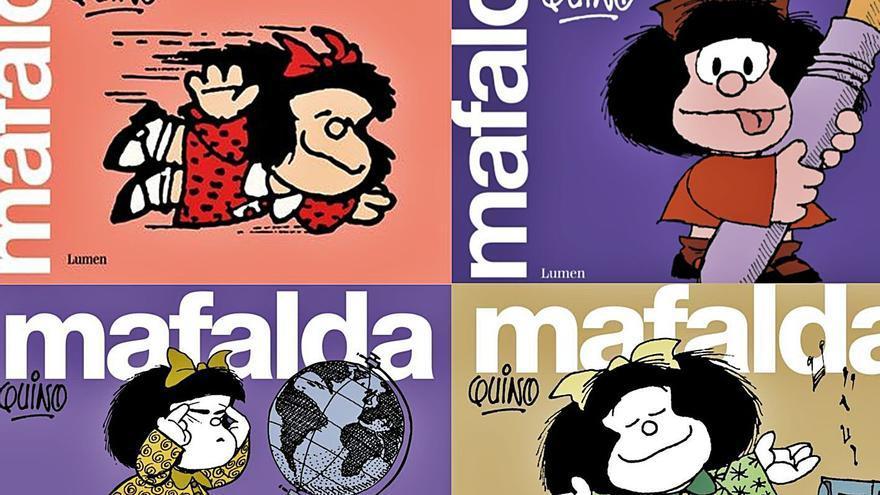 El Port de València acomiada l'any amb l'humor de Mafalda
