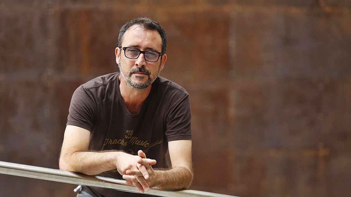 L'escriptor i traductor begurenc Adrià Pujol Cruells.   ANIOL RESCLOSA