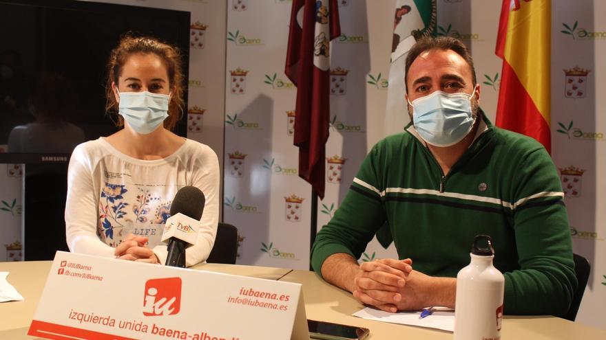 IU Baena, preocupada por las obras de la plaza de Andalucía