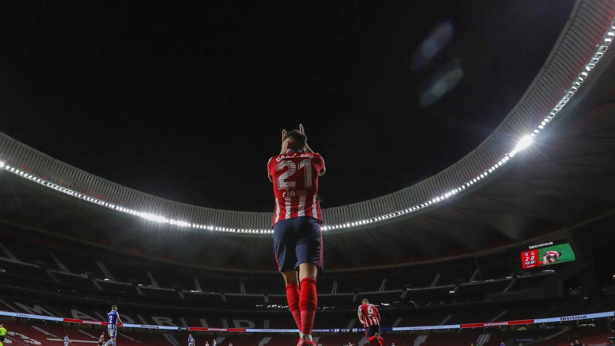 El Atlético camina firme hacia el título.